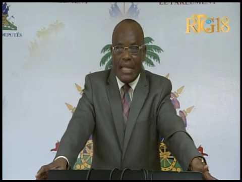 Parlement haïtien / 8 novembre 2016