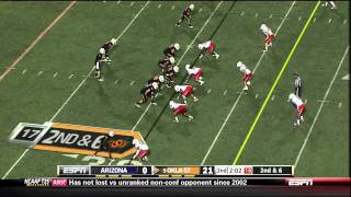 Justin Blackmon vs Arizona 2011