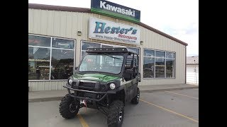 10. 2019 Kawasaki Mule Pro FXT Hester Edition for a customer. Lift, sound system top, heater and more!