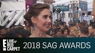 Video Alison Brie Addresses James Franco Allegations at SAG Awards | E! Live from the Red Carpet MP3, 3GP, MP4, WEBM, AVI, FLV April 2018