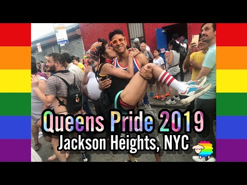 Queens Pride 2019 in Jackson Heights, NYC