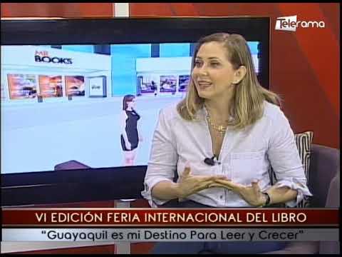 VI Edición Feria Internacional del Libro Guayaquil es mi Destino para Leer y Crecer