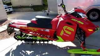 7. 2016 Ski-Doo Freeride 146 Modifications SkiDoo 800 Etec