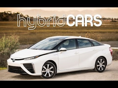 2016 Toyota Mirai Fuel Cell Car First Drive – HybridCars.com Review