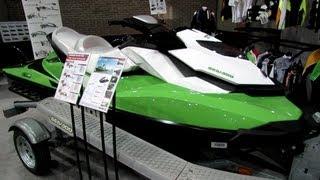 6. 2013 Sea-Doo GTI SE-130 Jet Ski - Walkaround - 2013 Montreal Boat Show