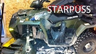 9. Polaris Sportsman 500 Wheel Bearing removal 2008-2015