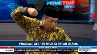 Download Video Prabowo Marah Tinju Meja Berkali-kali di Depan Ulama, Diungkap Usamah MP3 3GP MP4