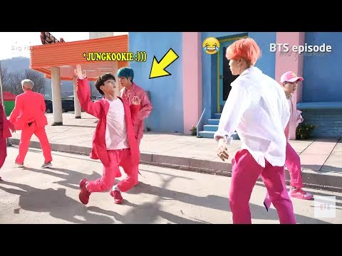 BTS JUNGKOOK makes his hyungs laugh! :)))