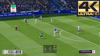 Video FIFA 19 4K 60 FPS Amazing Realism LIVE Broadcast Camera Chelsea vs Liverpool MP3, 3GP, MP4, WEBM, AVI, FLV September 2018