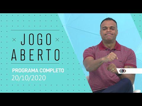 JOGO ABERTO - 20/10/2020 - PROGRAMA COMPLETO