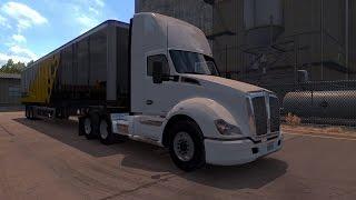 American Truck Simulator Gameplay! Destination : Barstow - Coastline Mining Cargo : Dynamite!!! (16 t) ★Twitter: unianuandrei ★Recording Program : Nvidia Sha...