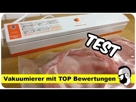 Vakuumiergerät Test - sehr klein, handlich und günstig