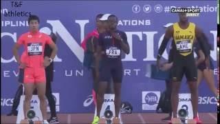 100m Men'sAsafa Powell 10.20Decanation 2016