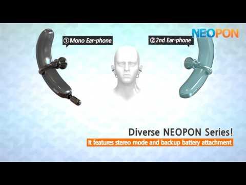 NEOPON - Earring type Smart Earphone!