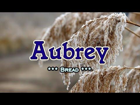 Aubrey - Bread (KARAOKE VERSION)