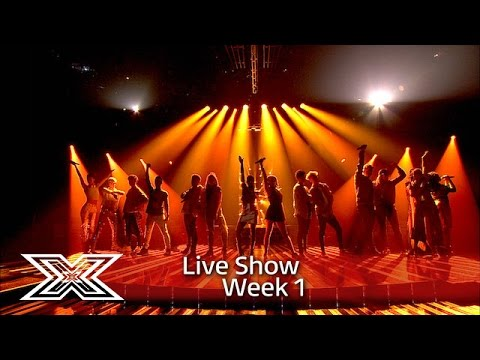 Video The Contestants sing Fleur East's Sax | Results Show | The X Factor UK 2016 download in MP3, 3GP, MP4, WEBM, AVI, FLV January 2017