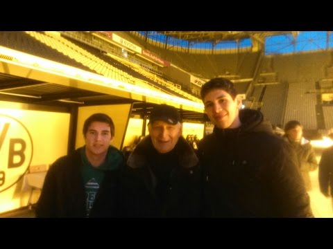 Dortmund vlog 02: Fan Shop & Stadium Tour
