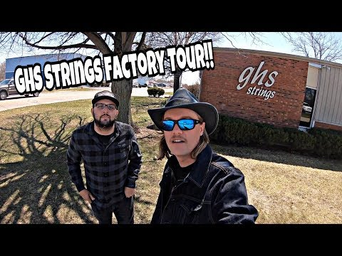 Ghs Strings Factory Tour 2018