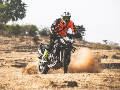 Triumph Tiger 800 XCX: Offroad Challenge : Sagar Sheldekar Official