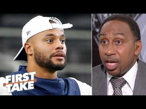 Video: The Cowboys are taking advantage of Dak Prescott - Stephen A. | First Take
