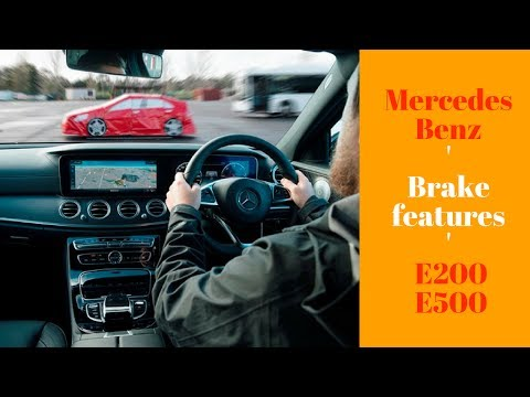 The Mercedes-Benz E200 E500 - Features Driverless driving Brake assist and In Depth Review
