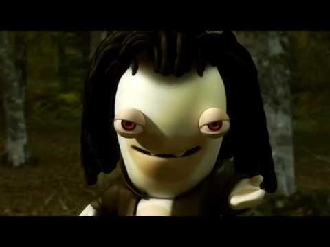 Quand les lapins cr tins parodient twilight - Lapin cretin vampire ...