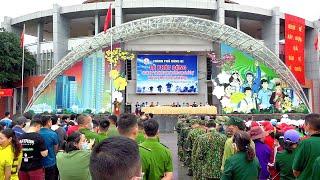 """TP Uông Bí: Phát động Cuộc vận động """"Toàn dân rèn luyện thân thể theo gương Bác Hồ vĩ đại"""" và """"Ngày chạy Olympic vì sức khỏe toàn dân năm 2021"""""""