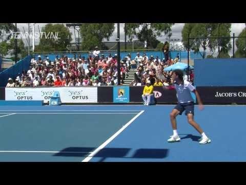 Robin Haase y Juan Monaco en el Abierto de Australian 2011