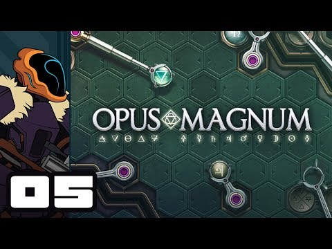Let's Play Opus Magnum - PC Gameplay Part 5 - Implications