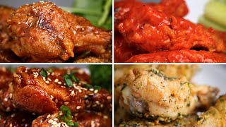 8 Game Day Baked Chicken Wings by Tasty