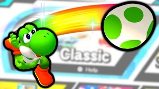 Classic Mode with Yoshi's Eggs - Game Plan