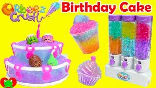 Orbeez Crush Sweet Treats Playset with Shopkins Season 3 and Birthday Cake