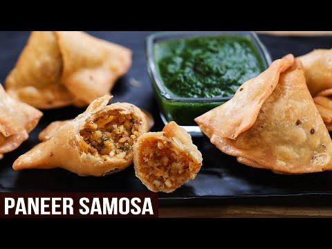 Crispy Paneer Samosa | MOTHER'S RECIPE | How To Make Samosa Chutney | Easy Samosa Recipe