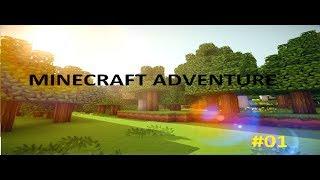 #01 MINECRAFT ADVENTURE-nowa seria , nowe mody i stary minecraft
