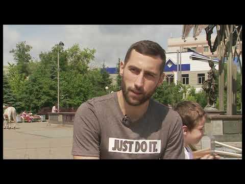 Чемпион России по мини-футболу, тюменский воспитанник Максим Волынюк