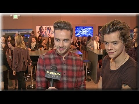 One Direction – Harry & Liam – Gifts, Album's Fave Songs & The X Factor