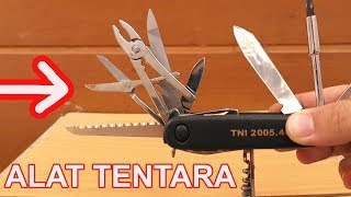 Video 5 ALAT TENTARA MILITER UNIK BERFAEDAH MP3, 3GP, MP4, WEBM, AVI, FLV April 2019