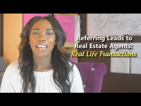 Real Estate Investing: Referring Leads to Real Estate Agents