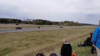 BMW E30 M20 touring turbo vs BMW E30 325ix M50 turbo