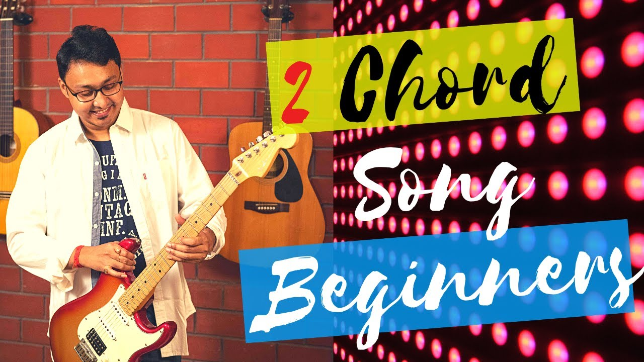 2 chords hindi song guitar lesson for absolute beginners-Yaaron-KK -Easy(www.tamsguitar.com)