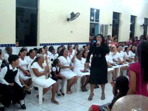 Maria Amparo no Cinquentenário ass. de Deus Cajari-MA