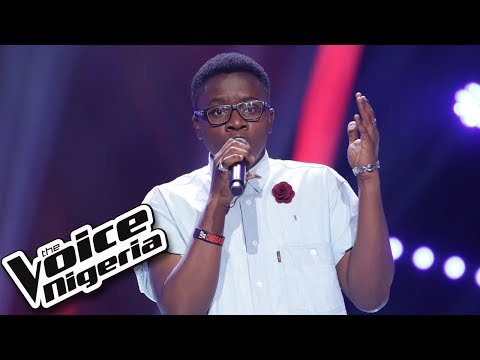 """Wilson Odini sings """"Just give me a reason"""" / Blind Auditions / The Voice Nigeria Season 2"""