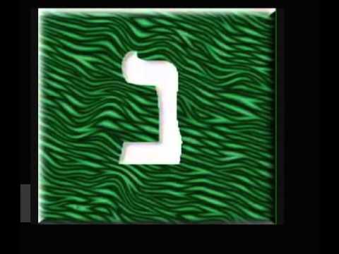 conosciamo l'alfabeto ebraico