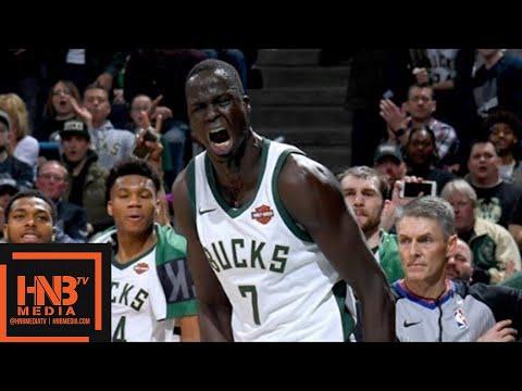 Boston Celtics vs Milwaukee Bucks 1st Half Highlights / Game 3 / 2018 NBA Playoffs