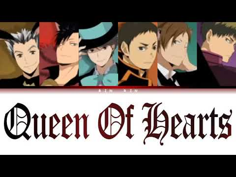 [Haikyu!!] Captains - Queen Of Hearts (cover) Lyrics color-coded (Jap_Rom_Eng)