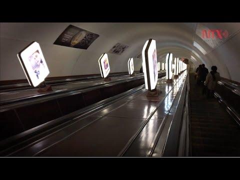 La estación del Metro más profunda