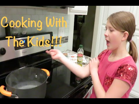 Cooking With The Kids Vlog!!