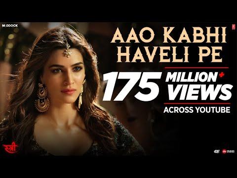Aao Kabhi Haveli Pe Video | STREE | Kriti Sanon |