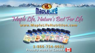 MAPLELIFE NUTURITION TV COMMERCIAL EP1 - ENGLISH