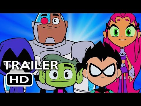 Teen Titans Go! To the Movies Official Trailer #1 (2018) DC Animated Superhero Movie HD